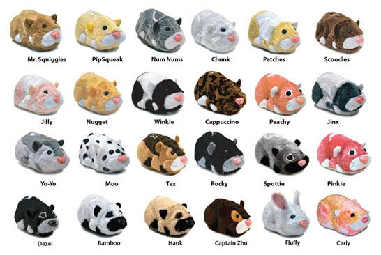 Zhu Zhu Hamster Pets
